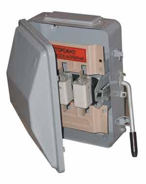 Ящик силовой ЯБПВУ-1М 100 А IP54 в комплекте с предохранителями